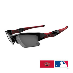 Oakley FLAK JACKET XLJ Arizona Diamondbacks Black/24015